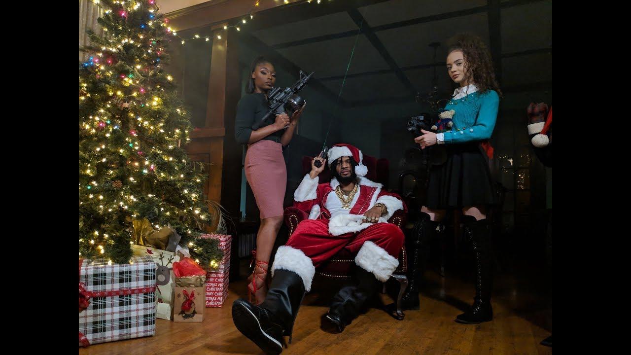 Watch Now: Raz Simone - Santa Claus [prod. Tarek Holmes]