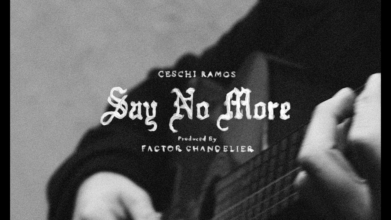 Watch Now: Ceschi - Say No More [prod. Factor Chandelier]