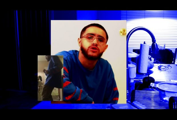 Watch Now: jus lovehall - Blue [prod. AddaeX & Ian Francis]