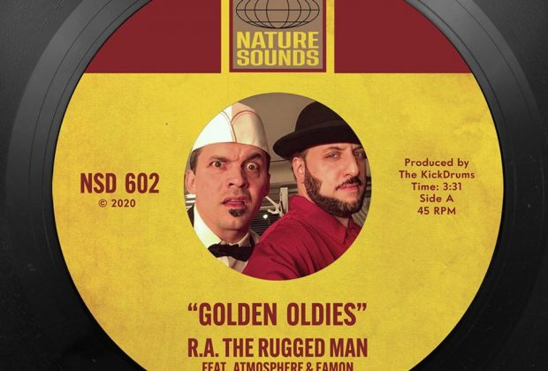 Listen Now: R.A. The Rugged Man - Golden Oldies (feat. Slug & Eamon) [prod. The Kickdrums]