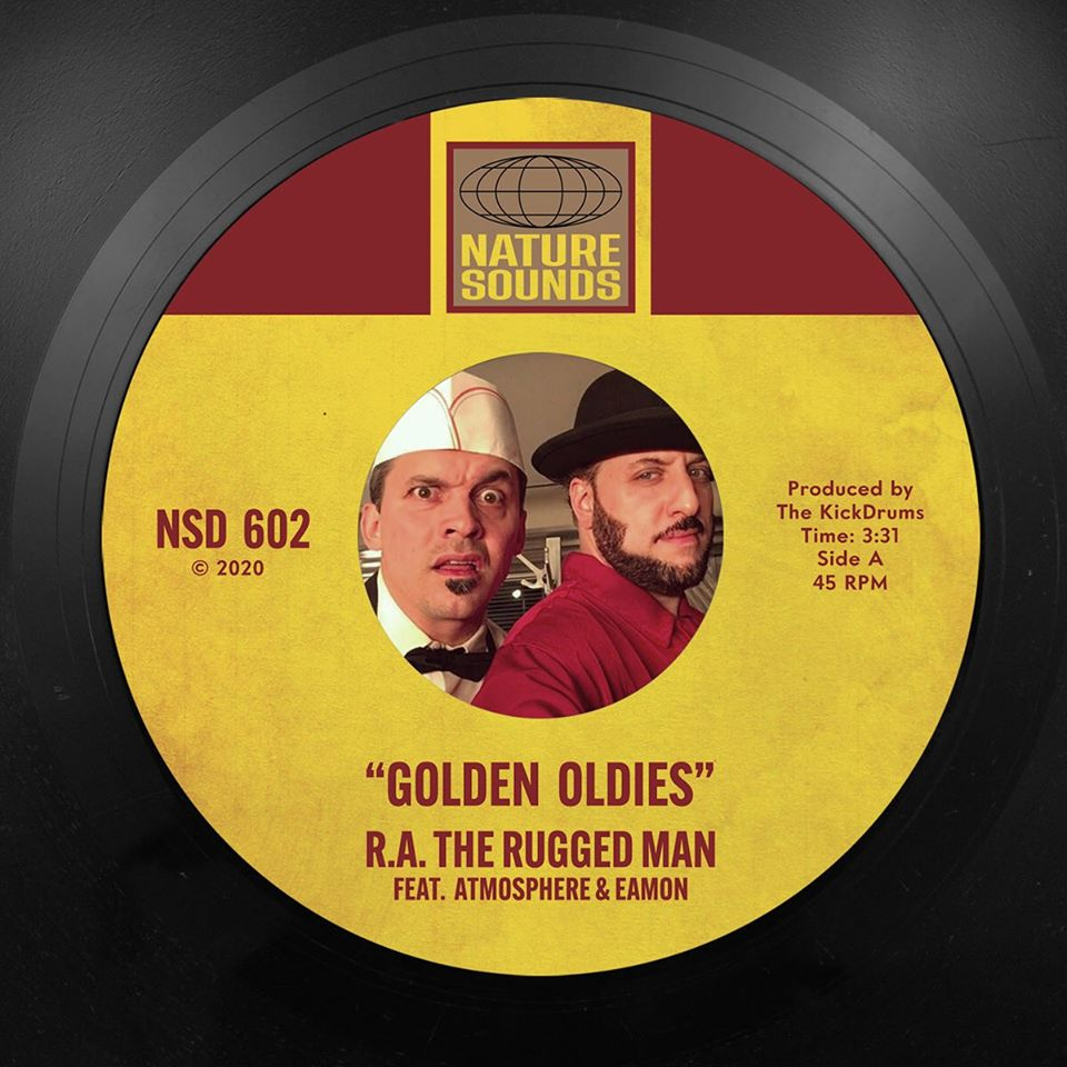Listen Now: R.A. The Rugged Man - Golden Oldies (feat. Slug & Eamon) [prod. The Kickdrums]